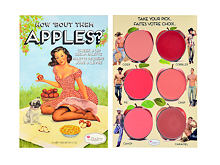 Makeup set TheBalm How Bout Them Apples? Lip & Cheek Cream Palette