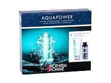 Gel za obraz Biotherm Homme Aquapower Oligo Thermal Care 75 ml Seti