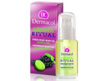 Masažno olje Dermacol Aroma Ritual Stress Relief Body Oil Grape & Lime