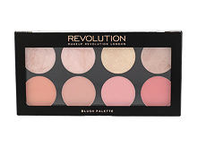 Senčilo Makeup Revolution London Blush Palette 13 g Golden Sugar