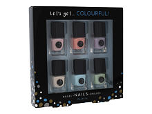 Lak za nohte 2K Let´s Get Colourful! Pastels 5 ml Seti