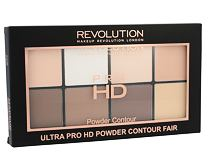 Puder v prahu Makeup Revolution London Ultra Pro HD Powder Contour Palette 20 g Fair