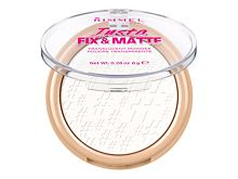 Puder v prahu Rimmel London Insta Fix & Matte 8 g 001 Translucent