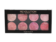 Rdečilo za obraz Makeup Revolution London Blush Palette 12,8 g Blush Queen
