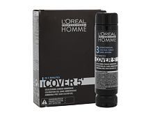 Barva za lase L´Oréal Professionnel Homme Cover 5´ 3x50 ml 3 Dark Brown
