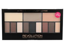 Senčilo za oči Makeup Revolution London Ultra Eye Contour Light & Shade 14 g