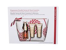 Serum za obraz Clarins Double Serum & Nutri-Lumiére Collection 30 ml Seti