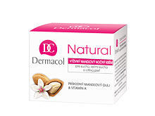 Nočna krema za obraz Dermacol Natural Almond 50 ml
