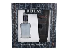 Toaletna voda Replay Jeans Spirit! For Him 30 ml Seti