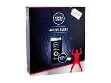 Gel za prhanje Nivea Men Active Clean 250 ml Seti