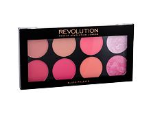 Rdečilo za obraz Makeup Revolution London Blush Palette 12,8 g Hot Spice