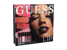 Šminka GUESS Look Book Lip 4 ml 101 Red Seti