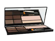 Paletka za obrvi Makeup Revolution London Ultra Brow Palette 18,98 g Medium To Dark