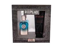 Toaletna voda Replay True For Him 30 ml Seti