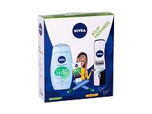 Gel za prhanje Nivea Clay Fresh 250 ml Ginger & Basil Seti
