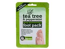Krema za stopala Xpel Tea Tree Tea Tree & Peppermint Deep Moisturising Foot Pack 1 ks