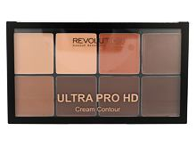 Puder v prahu Makeup Revolution London Ultra Pro HD Cream Contour Palette
