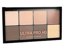 Puder v prahu Makeup Revolution London Ultra Pro HD Cream Contour Palette 20 g Light Medium