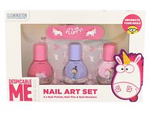 Lak za nohte Minions Unicorns 4 ml Seti
