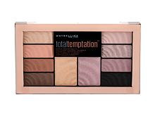 Senčilo za oči Maybelline Total Temptation Shadow + Highlight 12 g