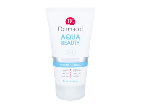 Čistilni gel Dermacol Aqua Beauty 150 ml