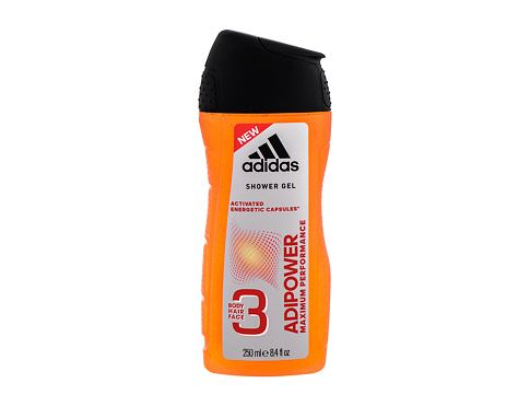 Gel za prhanje Adidas AdiPower 250 ml