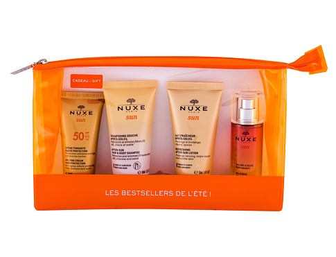 Zaščita pred soncem za obraz NUXE Sun Melting Cream SPF50 Travel Set 30 ml Seti
