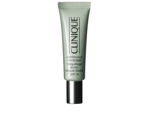 Tekoči puder Clinique Continuous Coverage SPF15 30 ml 02 Natural Honey Glow