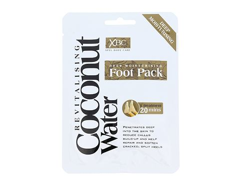 Krema za stopala Xpel Coconut Water Deep Moisturising Foot Pack 1 ks