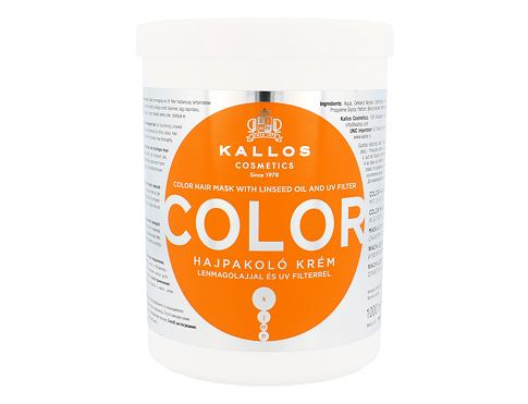 Maska za lase Kallos Cosmetics Color 1000 ml