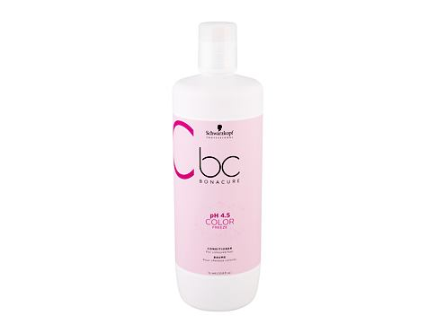 Balzam za lase Schwarzkopf BC Bonacure pH 4.5 Color Freeze 1000 ml