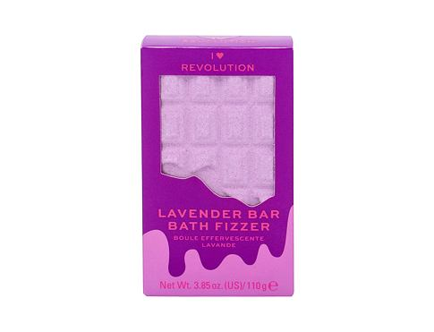 Kopel Makeup Revolution London I Heart Revolution Chocolate Bar Bath Fizzer 110 g Lavender