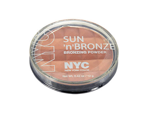 Puder v prahu NYC New York Color Sun N Bronze Bronzing Powder 12 g 708 Coney Island Glow