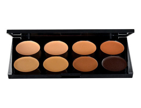 Korektor Makeup Revolution London Ultra Cover And Conceal Palette 10 g Medium-Dark