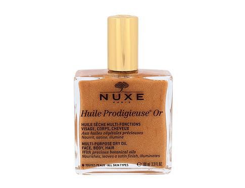 Olje za telo NUXE Huile Prodigieuse Or Multi Purpose Dry Oil Face, Body, Hair 100 ml