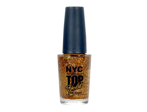 Lak za nohte NYC New York Color Top of the Gold 9,7 ml 010 Top of the Gold