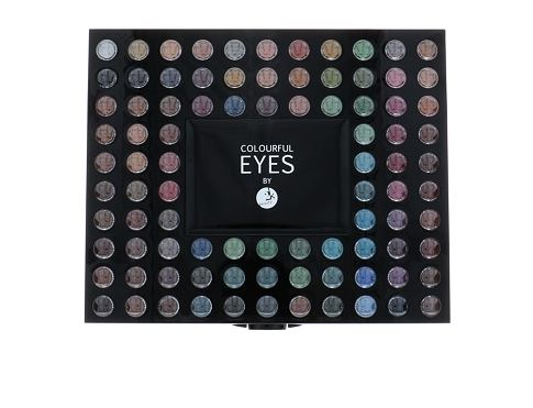 Senčilo za oči 2K Colourful Eyes 98 Eye Shadow Palette 78,4 g