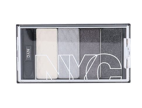 Senčilo za oči NYC New York Color HD Color Quattro Eye Shadow 6 g 797 Gothic Harlem