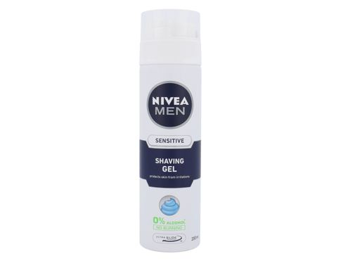 Gel za britje Nivea Men Sensitive 200 ml