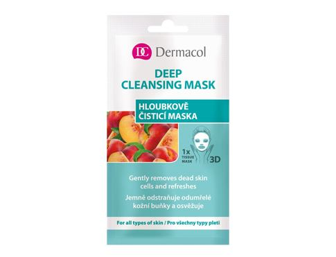 Maska za obraz Dermacol Deep Cleansing Mask 15 ml