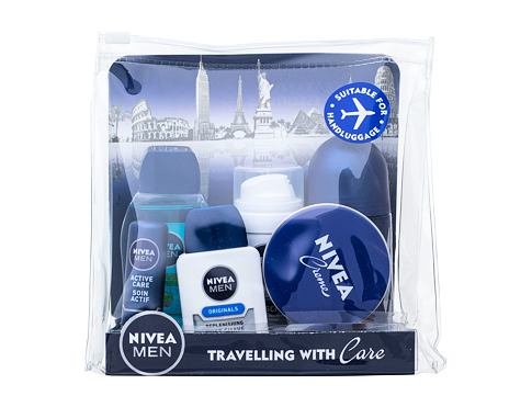 Gel za prhanje Nivea Men Power Refresh 50 ml Seti