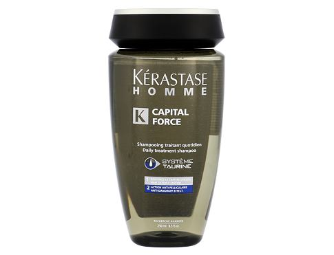 Šampon Kérastase Homme Capital Force AntiDandruff Effect 250 ml