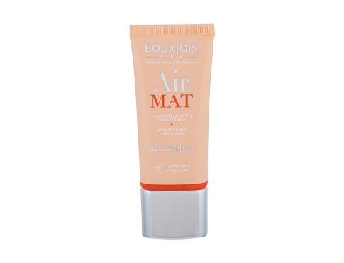 Tekoči puder BOURJOIS Paris Air Mat SPF10 30 ml 01 Rose Ivory