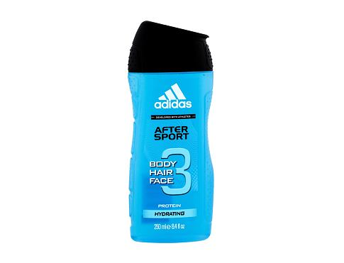 Gel za prhanje Adidas After Sport 3in1 250 ml