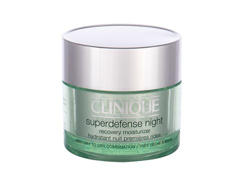 Nočna krema za obraz Clinique Superdefense 50 ml Testerji