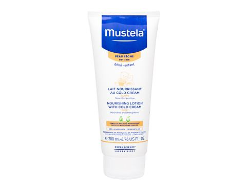 Losjon za telo Mustela Bébé Nourishing Lotion With Cold Cream 200 ml