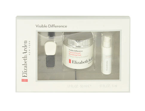 Maska za obraz Elizabeth Arden Visible Difference Peel And Reveal Mask 50 ml poškodovana škatla Seti