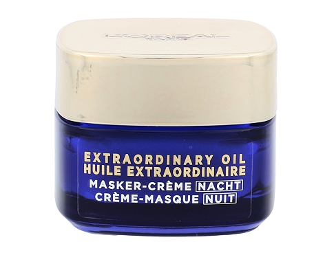 Nočna krema za obraz L´Oréal Paris Extraordinary Oil Night Cream Mask 50 ml