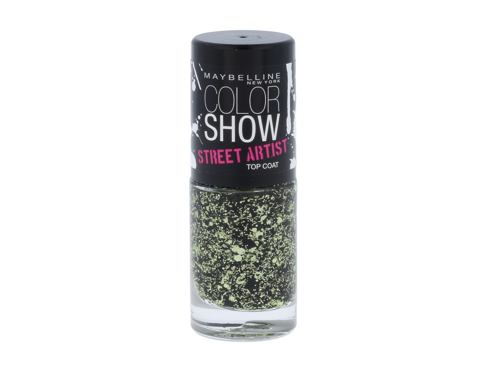 Lak za nohte Maybelline Color Show Street Artist 7 ml 01 Boom Box Black
