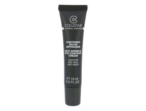 Krema za okoli oči Collistar Linea Uomo Anti-Wrinkle Eye Contour Cream 15 ml
